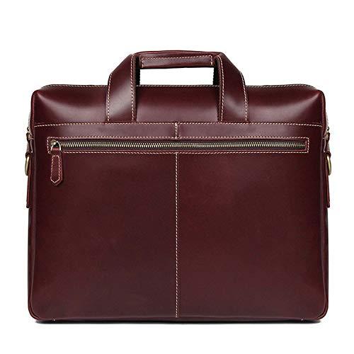 Pour Bandoulière Porte Sac documents Hommes Bags Cuir À Affaires Handbags En Shoulder Brown 15