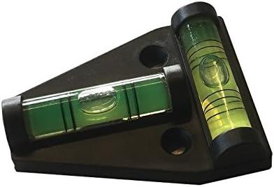 Wasserwaagen Wasserwaage Spirit Level 12 Stück Mini Libellen Libelle 6x15 mm