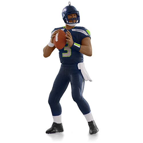 Price comparison product image NFL Seattle Seahawks Russell Wilson Ornament 2015 Hallmark