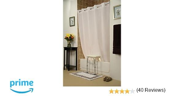 Amazon.com: Simplicity Transfer Bench Shower Curtain(Color=Beige ...