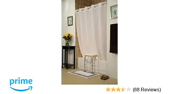 Amazon Simplicity Transfer Bench Shower CurtainColorWhite Health Personal Care