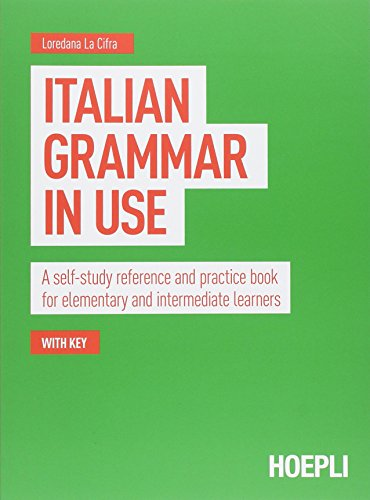 Which are the best italian grammar in use available in 2019?