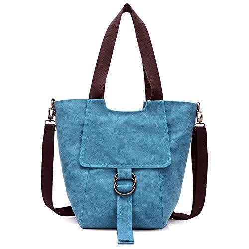 Voyage à In 270 Hobo quotidien main Sac bandoulière 5000 Multipoches à Shopping Large Sacs Cloth Susulv Blue Sac femmes pour Tw8OTPx