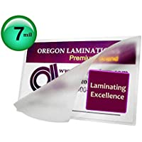 Oregon Laminations Premium 7 Mil 4x6 Photo Hot Laminating Pouches 4-1/4 x 6-1/4 (Pack of 500) Clear