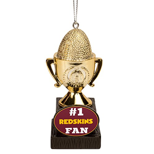 NFL Tree Christmas Ornament Washington Redskins