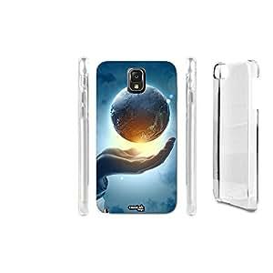 FUNDA CARCASA UBER MONDO MANO PARA SAMSUNG GALAXY NOTE 3 N9005