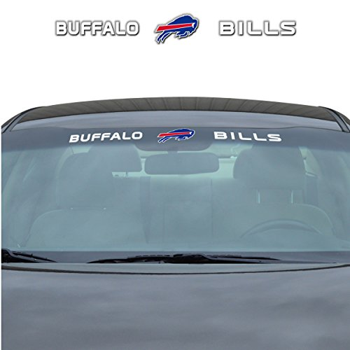 NFL Buffalo Bills Windshield Decal, Blue, Standard (Buffalo Bills Auto Decal compare prices)