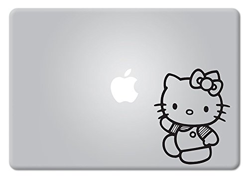 Hello Kitty Cat Macbook Laptop Decal Vinyl Sticker