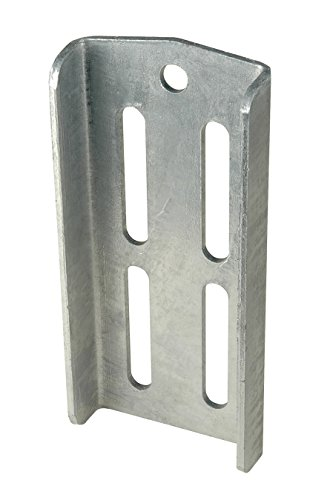 CE Smith Trailer 10191GA Double U-Bolt Bracket, 9 3/4- Replacement Parts and Accessories for Your Ski Boat, Fishing Boat or Sailboat Trailer