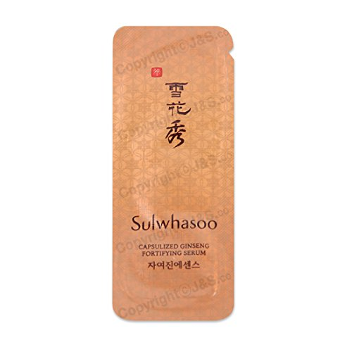 Sulwhasoo NEW Capsulized Ginseng Fortifying Serum 1ml x 50PCS