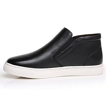 WZG Chaussures occasionnels hommes du nouveau coton matelassé chaussures  chaudes hiver, plus velours hommes Martin