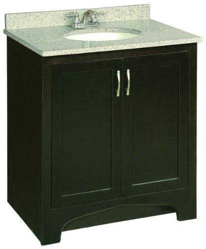 Premier Faucet 106723 Sonoma RTA Vanity, 30-Inch, Espresso Finish