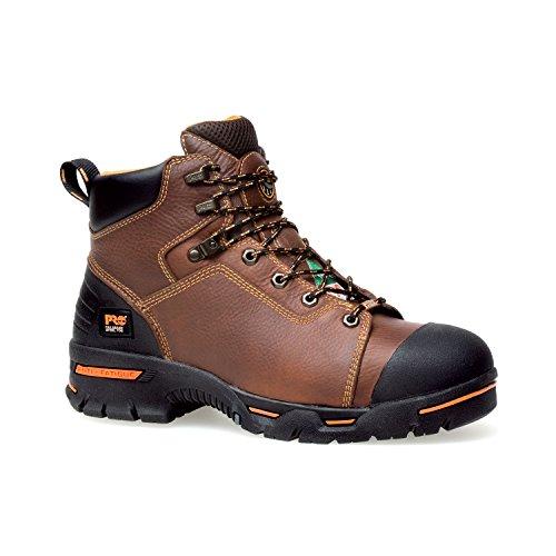 Timberland PRO Men's Endurance PRO Waterproof 6' Work Boot,Rancher Brown,10 M