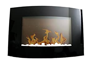 New Diva Tranquility 35″ Wall Mount 1500W/750W Adjustable Electric Fireplace/Heater with Remote Control