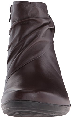 Clarks Kvinders Everlay Mandy Støvle Mørk Trøffel Læder pbRG5nH