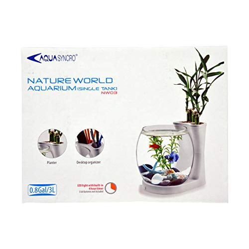 ReSun NW03 Mini/Nano Nature World Aquarium 3L