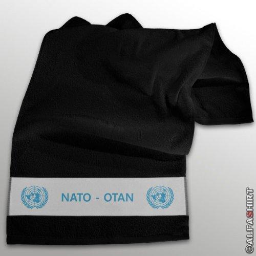 Tratado del Atlántico Norte Otan cascos azules soldados para guardar - toalla negro #11262: Amazon.es: Hogar