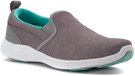 Vionic Women's Agile Kea Slip On (Silver, 10 Wide)
