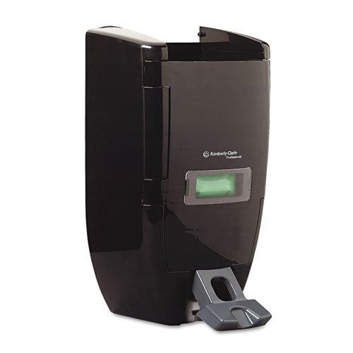 "Kimberly Clark Professional Sani-Tuff Push Soap Dispenser (92013), 10.8"" x 7.0"" x 17.8"", 3.5 or 8 Liter Soap Refills, Smoke / Black, 1 / Case"