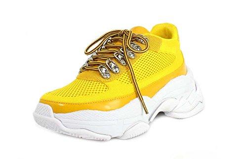 Yellow Combo Sneaker Jeffrey Hotspot Womens Mesh Campbell nxqqBvRI