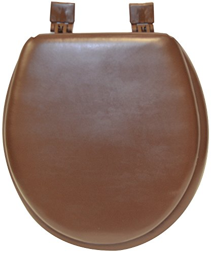 Soft Toilet Seat, Standard Size, Chocolate Brown