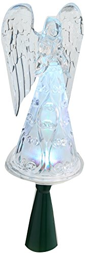 Christmas Tree Top Angel, Color-Changing LED, 6-Light