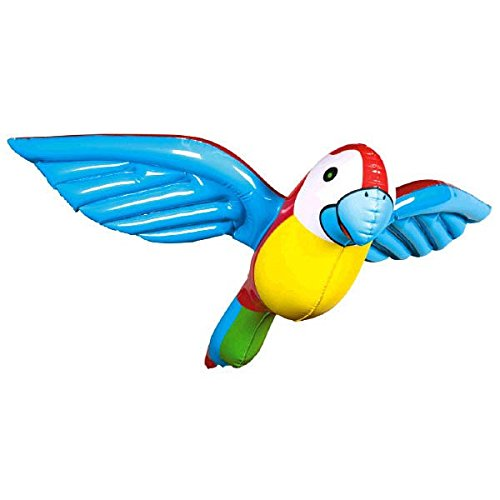 Inflatable Flying Parrot 23in (Parrot Decorations)