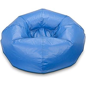 Bean Bag Chair Medium Standard Vinyl Cozy Comfort For Kids And Teens Bedroom Living Room Accessories