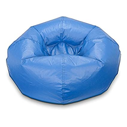 Amazoncom Bean Bag Chair Medium Standard Vinyl Cozy Comfort For