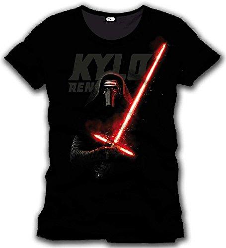 Star Wars VII - The Force Awakens - Kylo Ren Laser Sith Revival Black Schwarz T-Shirt - Size / Größe M