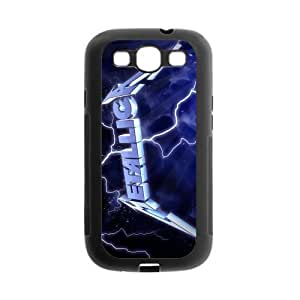 iStyle Zone TPU Rubber Case Compatible with Samsung Galaxy S III / S3 i9300 Cover [Metallica]
