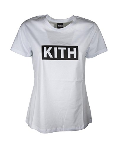 KITH Shirt Donna K100 Basic Girocollo con Stampa