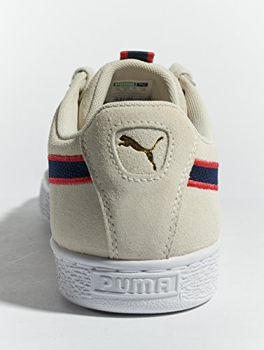 cheap sale outlet store for cheap online Puma Unisex Adults' Suede Classic Sport Stripes Low-Top Sneakers Beige (Vaporous Gray-ribbon Red-peacoat 01) cheap sale excellent fwSFqqe