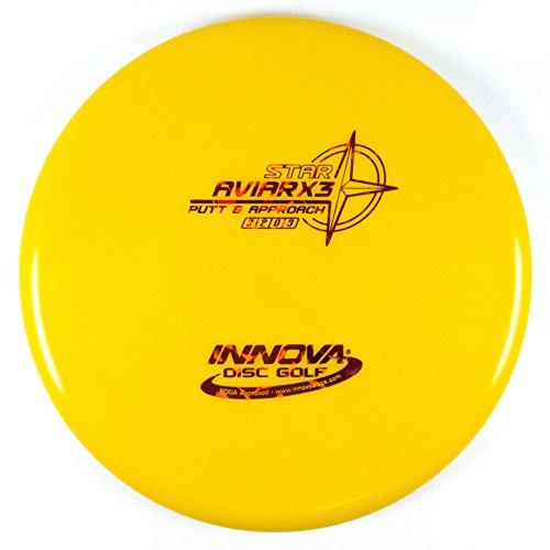 INNOVA Star AviarX3 Putt & Approach Golf Disc [Colors May Vary] - 165-169g