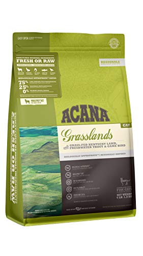 Acana Regionals Grasslands Dry Cat Food, 4 lb