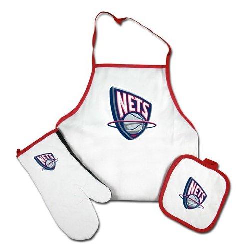 Apron Mcarthur - New Jersey Nets Apron and Mitt Set
