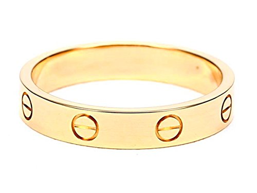 Fire Ants Love Ring-Gold Lifetime Just Love You With(Size:5-10) (10) by Fire Ants (Image #1)