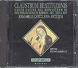Claustrum Beatitudinis Laudi Latine di S.Colombano in Bobbio - Sec. XIII & XIV