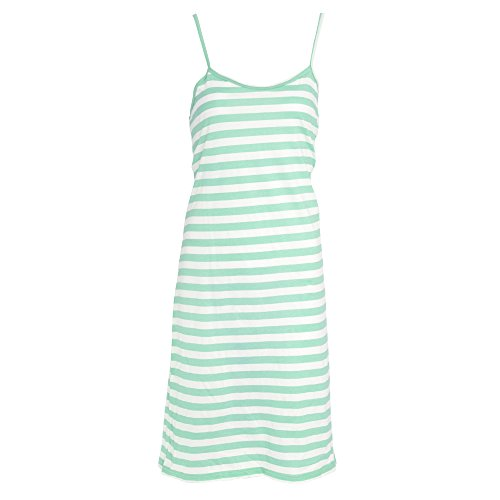 Tom Franks Womens/Ladies Jersey Chemise Pyjamas (8-10 US) (Teal)