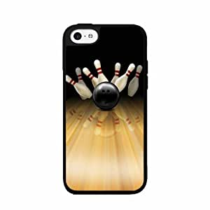Bowling Pins - Phone Case Back Cover (iPhone 4s D Plastic) comes with Security Tag and MyPhone diy case Cleaning Cloth