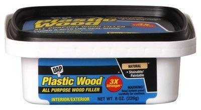 DAP 08135プラスチックCarpenter 'sラテックス木材フィラー、8オンス、自然 6 Pack 08135 B01LAK346U 6 Pack 6 Pack
