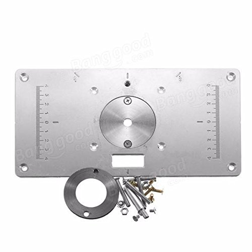Saver 235mm x 120mm x 8mm aluminum router table insert amazon saver 235mm x 120mm x 8mm aluminum router table insert amazon electronics keyboard keysfo Image collections
