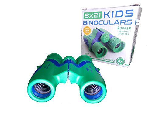 Boreal Point 8x21 Kids Binoculars for Bird Watching, hiking, Camping, Hunting and Star Gazing - Shock Proof - Water Resistant - Educational Toy for boys and girls - Helps Children stay active. - Hunting Star
