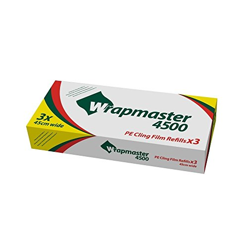 Wrapmaster 31 C81 Frischhaltefolie Refill, 45,7 cm CLEAR (3 Stück)