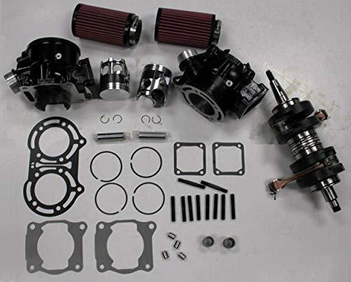 - Cylinder (BLACK color) Piston Gasket Crankshaft Air Filter Kit for Yamaha Banshee YFZ350 YFZ 350 1987~2006
