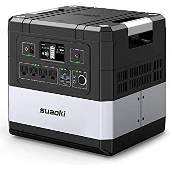Amazon.com: Estación de alimentación UPS, SUAOKI G1000 ...