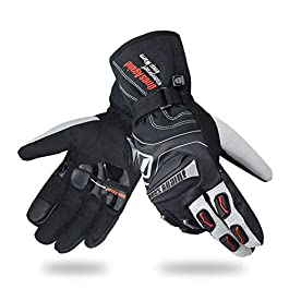 CHCYCLE Winter Motorcycle Riding Gloves for Men Women Touchscreen Waterproof Motorbike Powersports Gloves