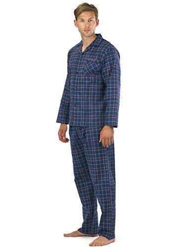 Cargo Bay para hombre manga larga térmico franela pijama Lounge Set q3N3KK