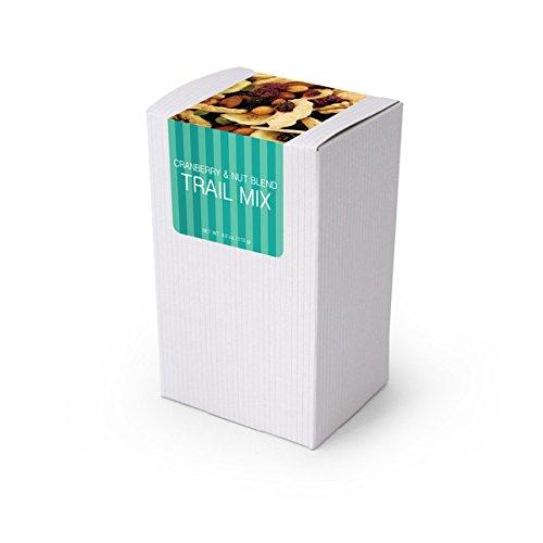 Trail Mix, Gourmet Cranny Banany, 5″ White Box 48ct/4oz