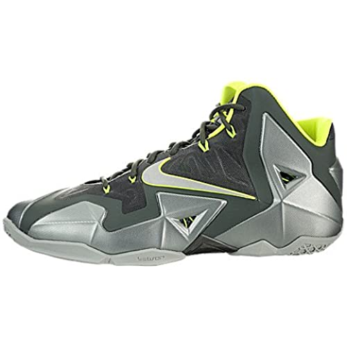 Nike Lebron James XI Men\u0027s Basketball Shoes Sneakers Green Size 10.5